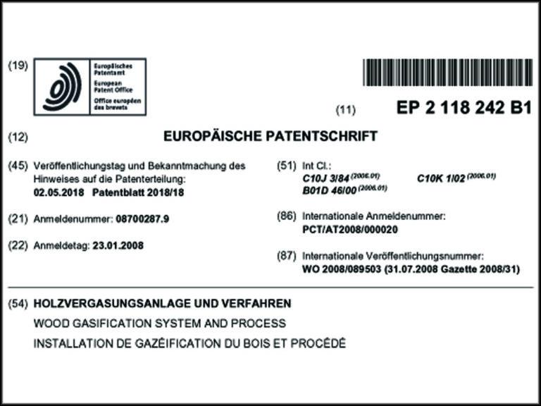EU-Patent für Urbas