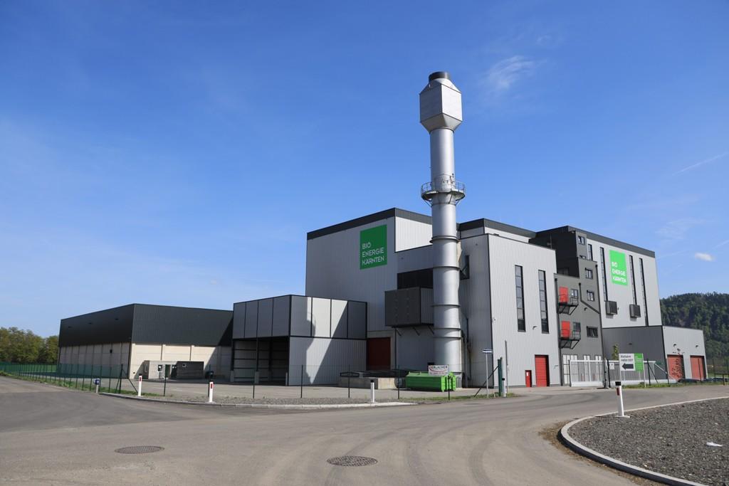 KW Anlage. CHP Plant. Austria. Bioenergy. Biomass.